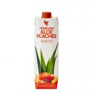Miąższ Aloe Vera z sokiem z brzoskwiń Forever Aloe Peaches