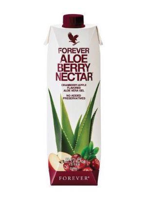 Miąższ Aloe Vera z sokiem z żurawin.