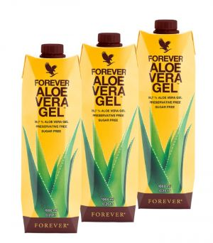 Forever Aloe Vera Gel Trójpak.